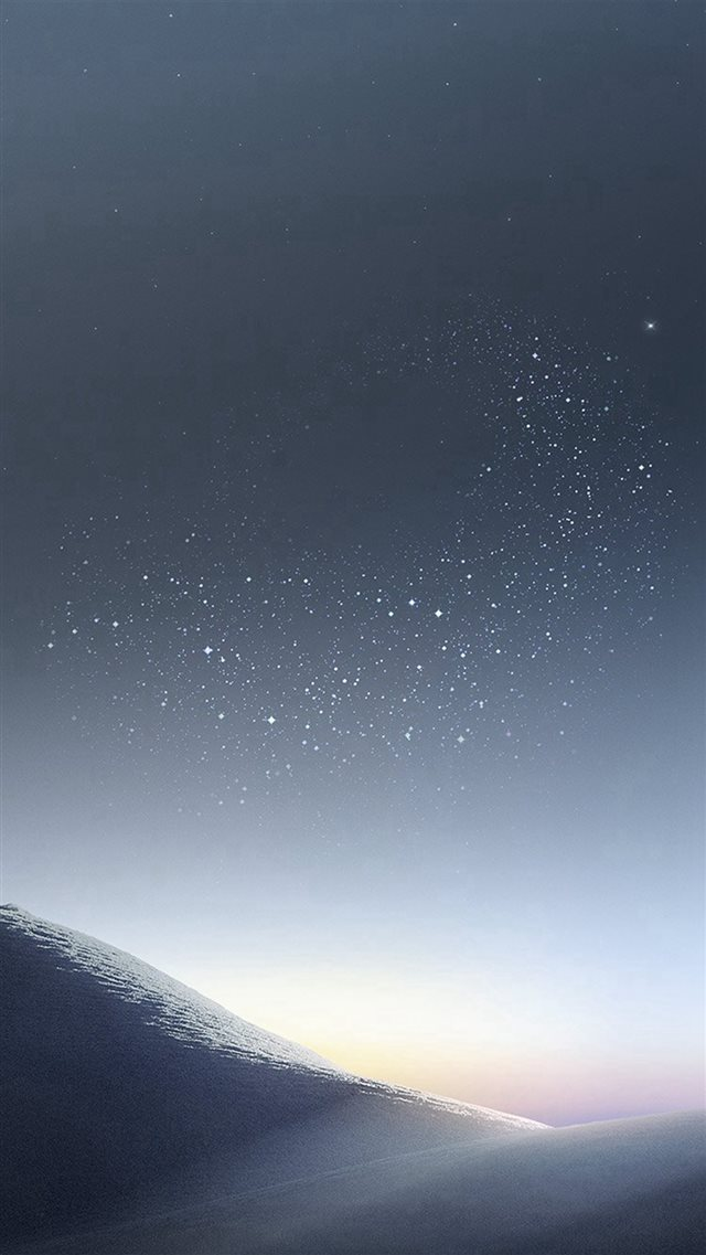 Galaxy Night Sky Star Art Illustration iPhone 8 wallpaper