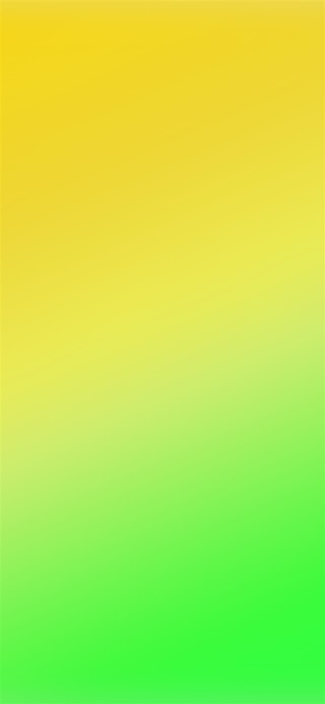 Yellow Green Blur Gradation  iPhone X wallpaper