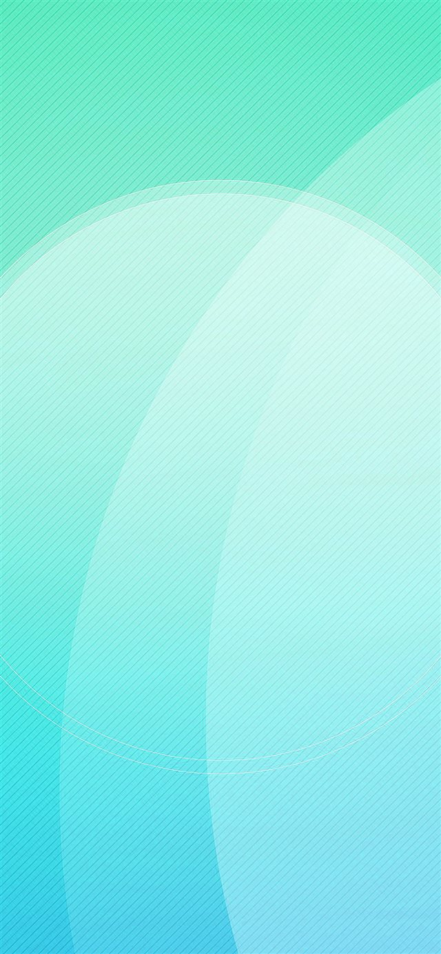 Blue Green Digital Art Circle Pattern iPhone X wallpaper