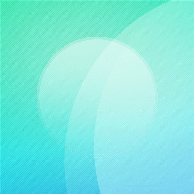 Blue Green Digital Art Circle Pattern iPad Pro wallpaper
