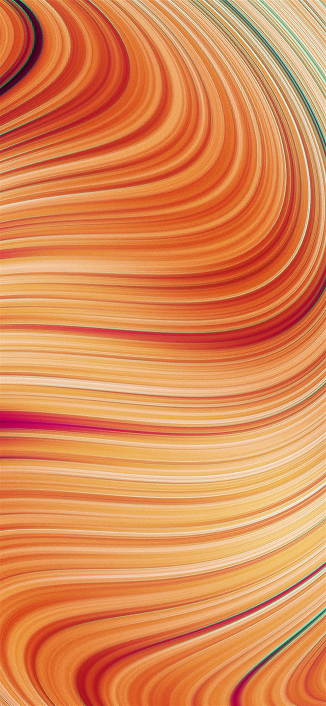 Curve Art Red Pattern Background iPhone 11 wallpaper