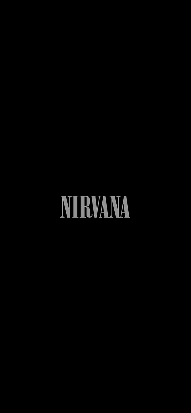 Nirvana iPhone X wallpaper