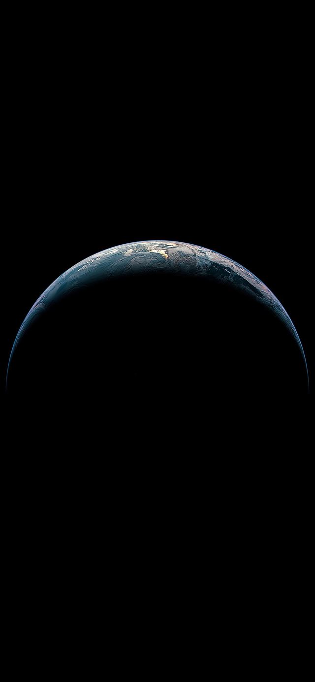 Earth from sky iPhone 11 wallpaper