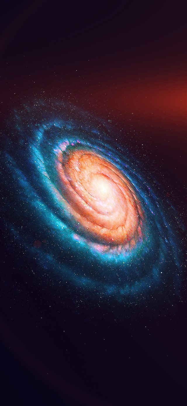 Space galaxy iPhone X wallpaper