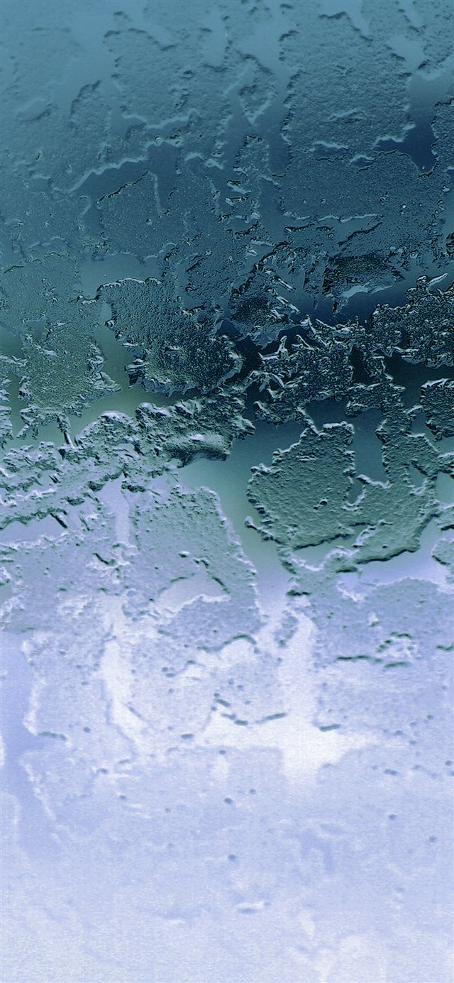 Icy crystal texture iPhone 11 wallpaper