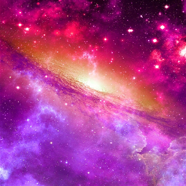 Space universe nebula star light iPad Pro wallpaper