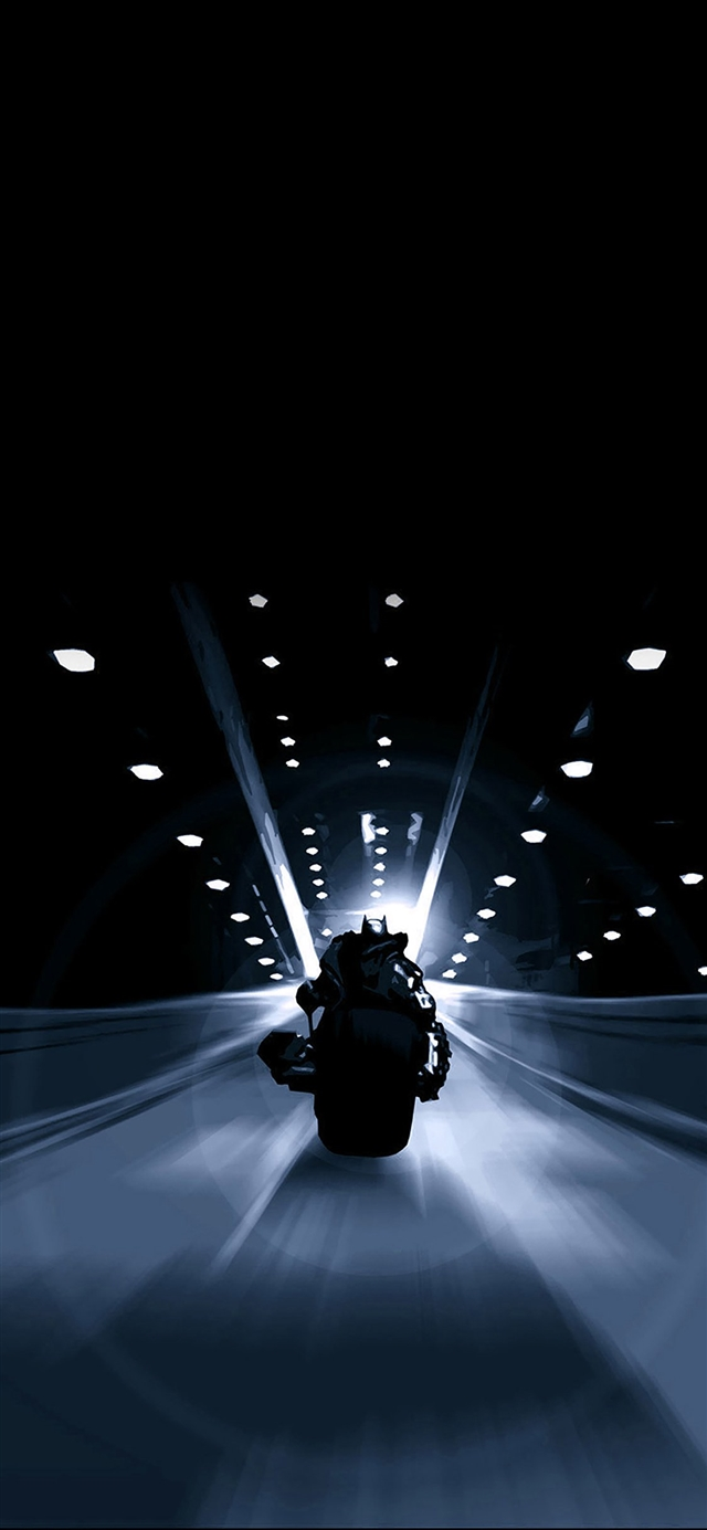 Following batman back iPhone X wallpaper