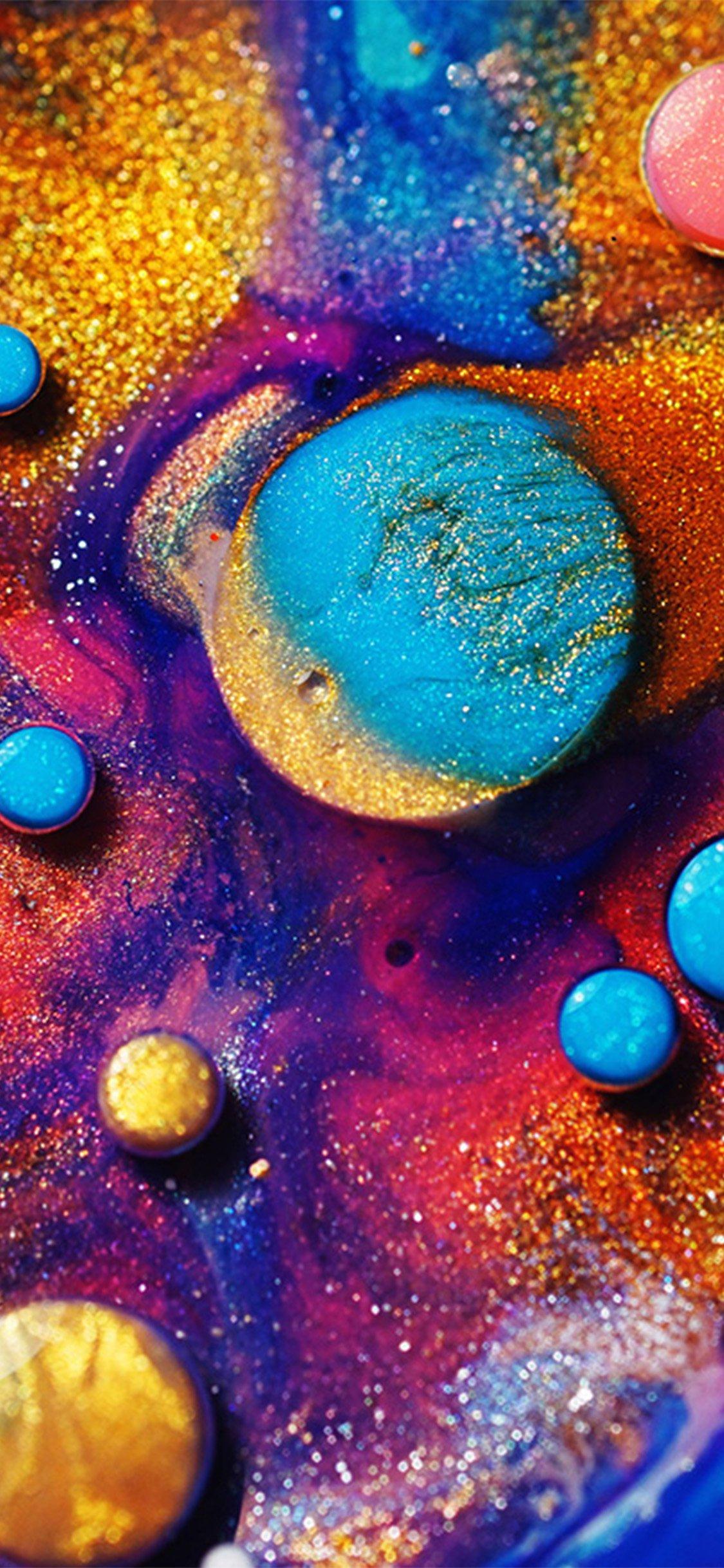 Makeup Color Art Pattern Background Iphone X Wallpaper Download