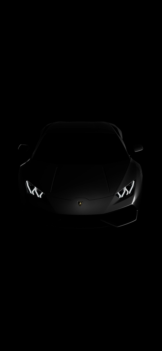 Lamborghini dark iPhone X wallpaper