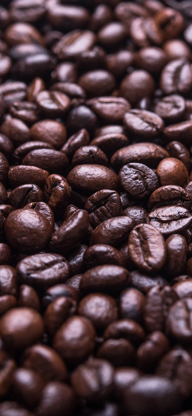 The coffee beans iPhone X wallpaper