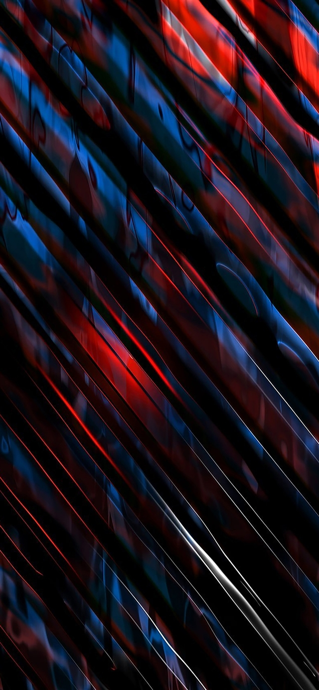 Abstract dark lines pattern iPhone X wallpaper