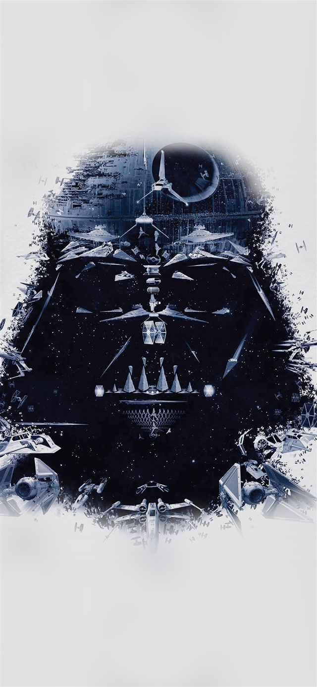 Art star wars iPhone X wallpaper