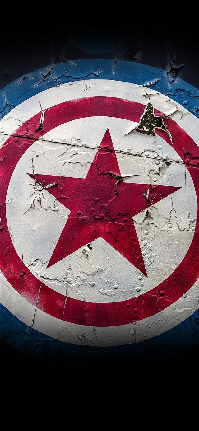 Captain america marvel hero iPhone X wallpaper