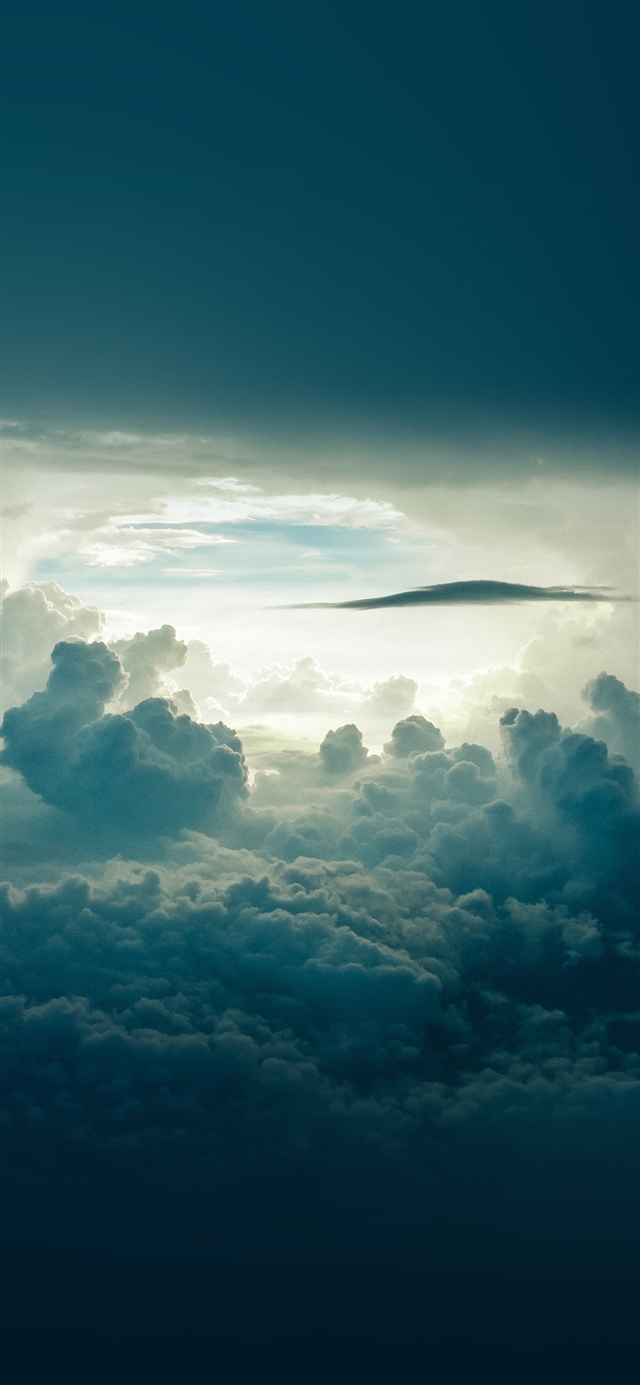 Sky cloud blue summer iPhone 11 wallpaper