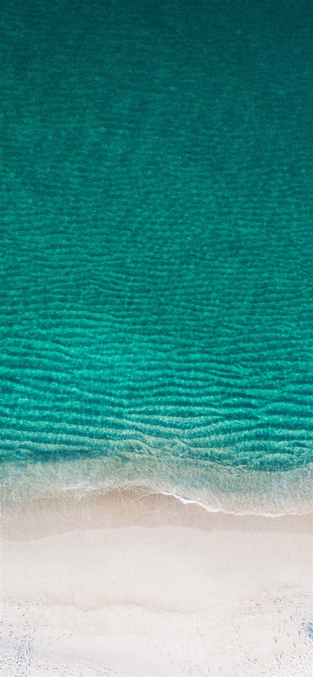 The beach iPhone 11 wallpaper