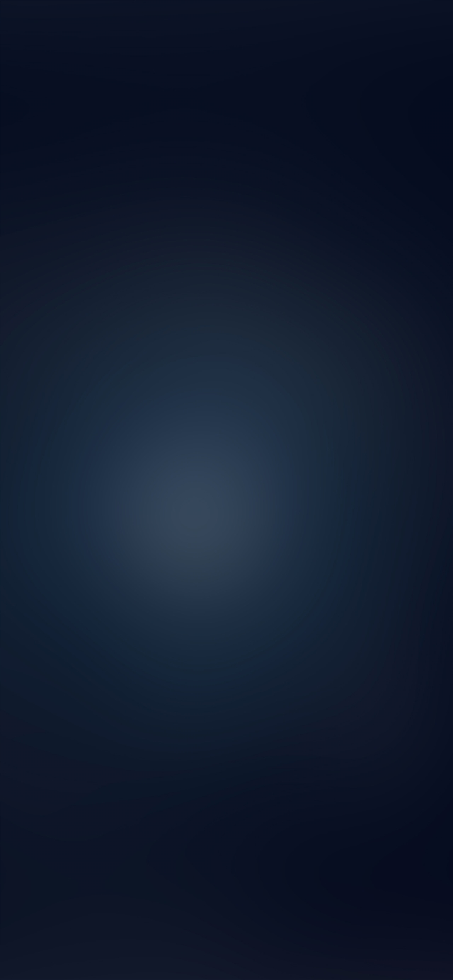 Dark blue night gradation blur iPhone 11 wallpaper