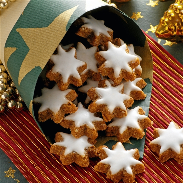 christmas cookie iphone wallpaper
