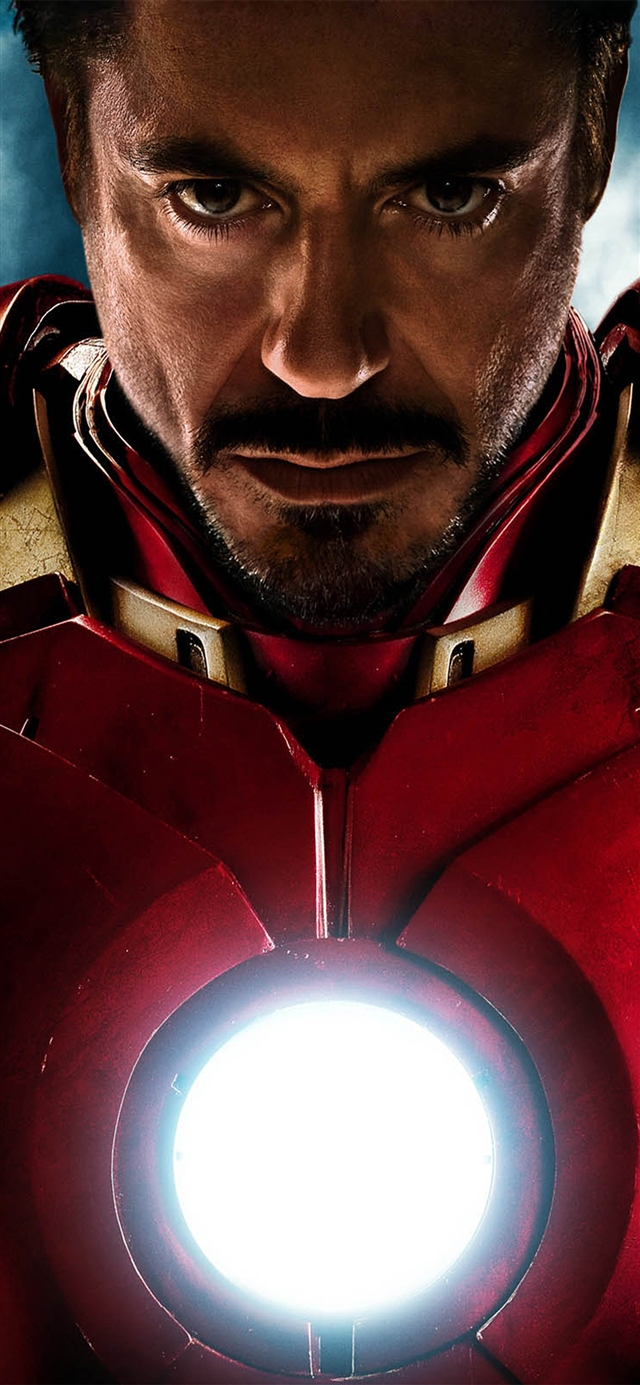 Ironman angry hero superhero red avengers iPhone X wallpaper