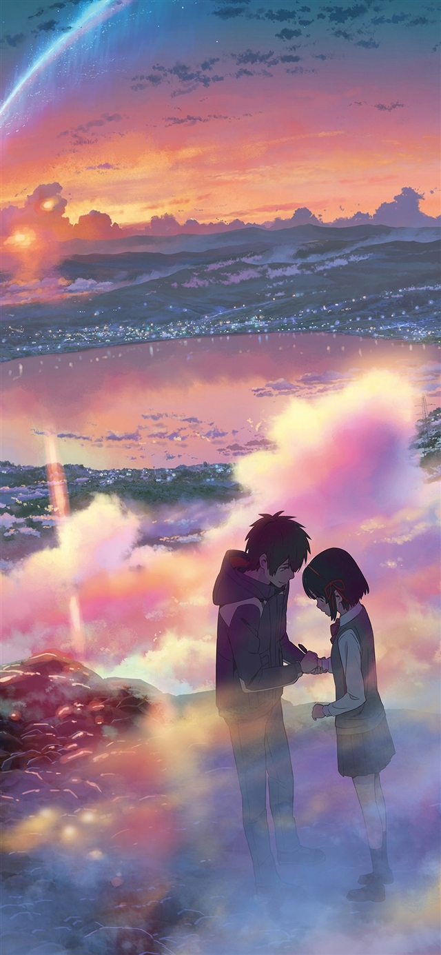 Anime filme illustration art iPhone X wallpaper