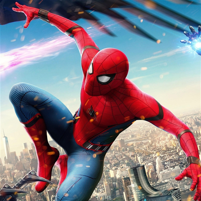 Spiderman hero iPad Pro Wallpapers Free Download