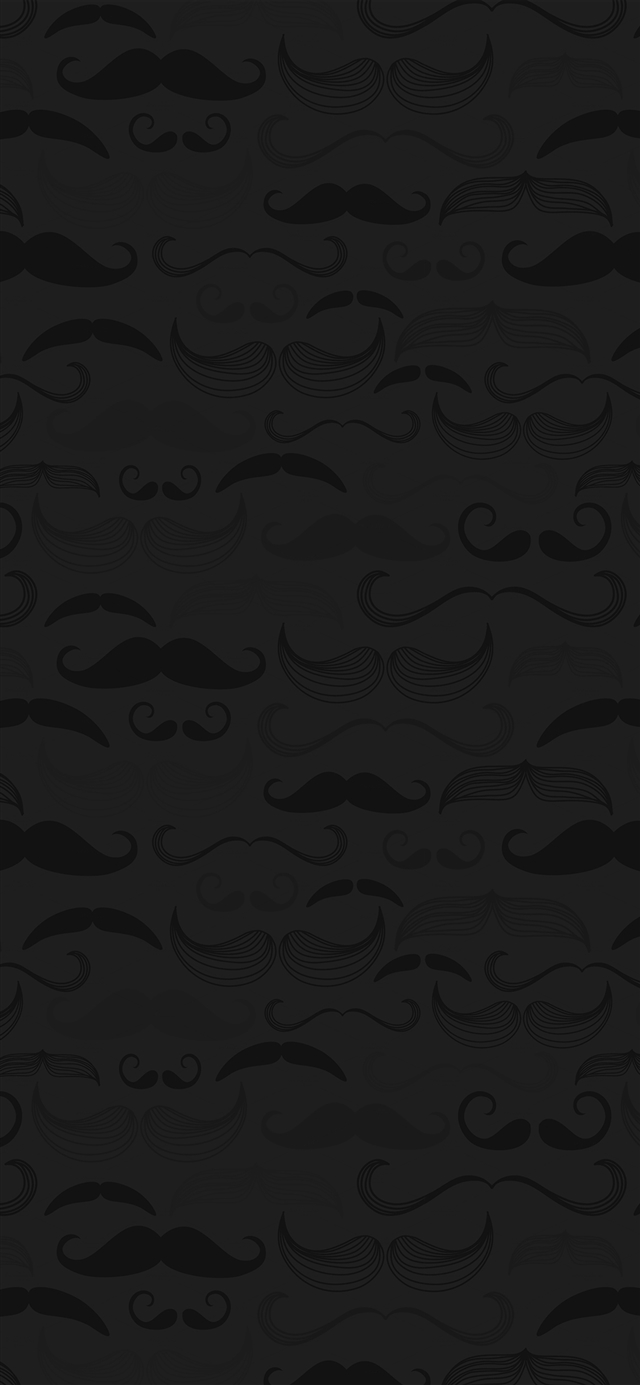Hipster Moustache Cute Patterns Iphone X Wallpapers Free