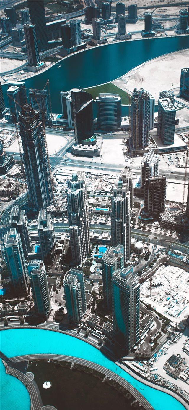 Burj Khalifa Dubai United Arab Emirates Iphone X Wallpapers