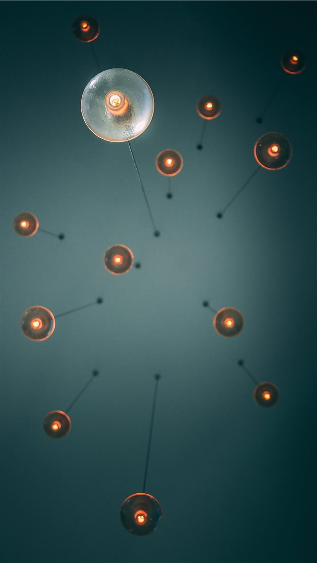 Ceiling Lights 2 0 iPhone SE wallpaper