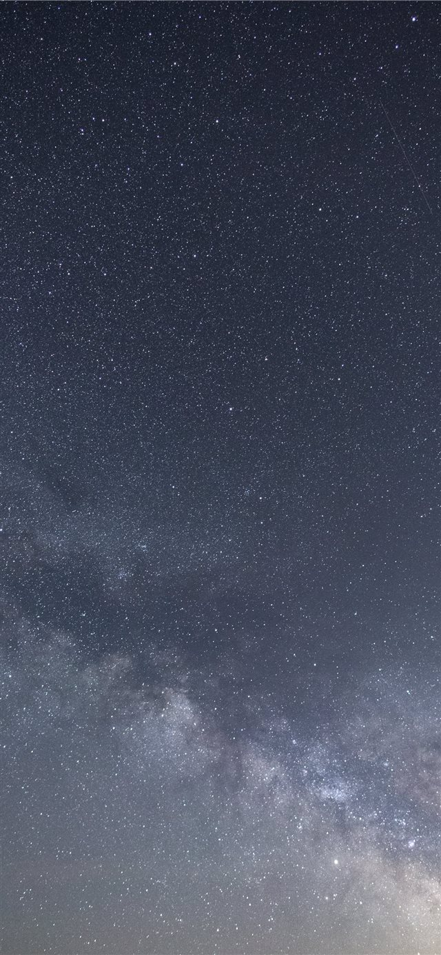 Milky Way Portrait iPhone X wallpaper