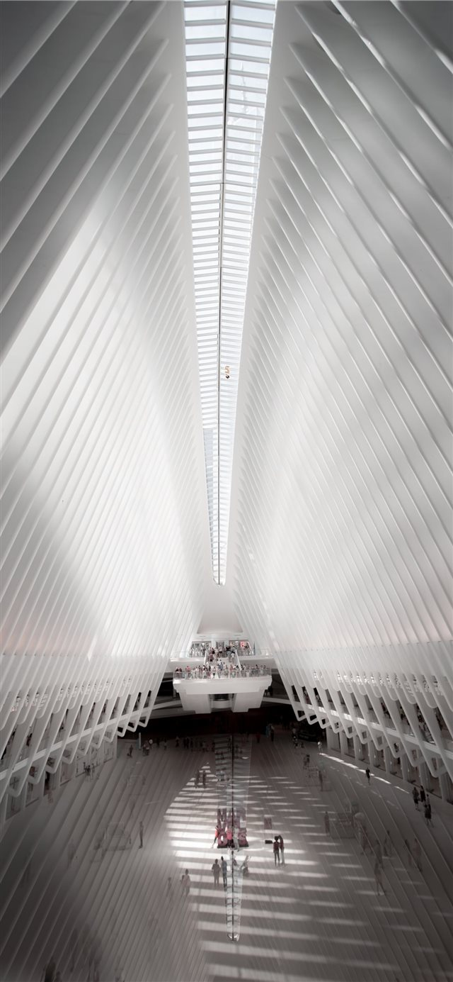 The Oculus  New York  United States iPhone X wallpaper