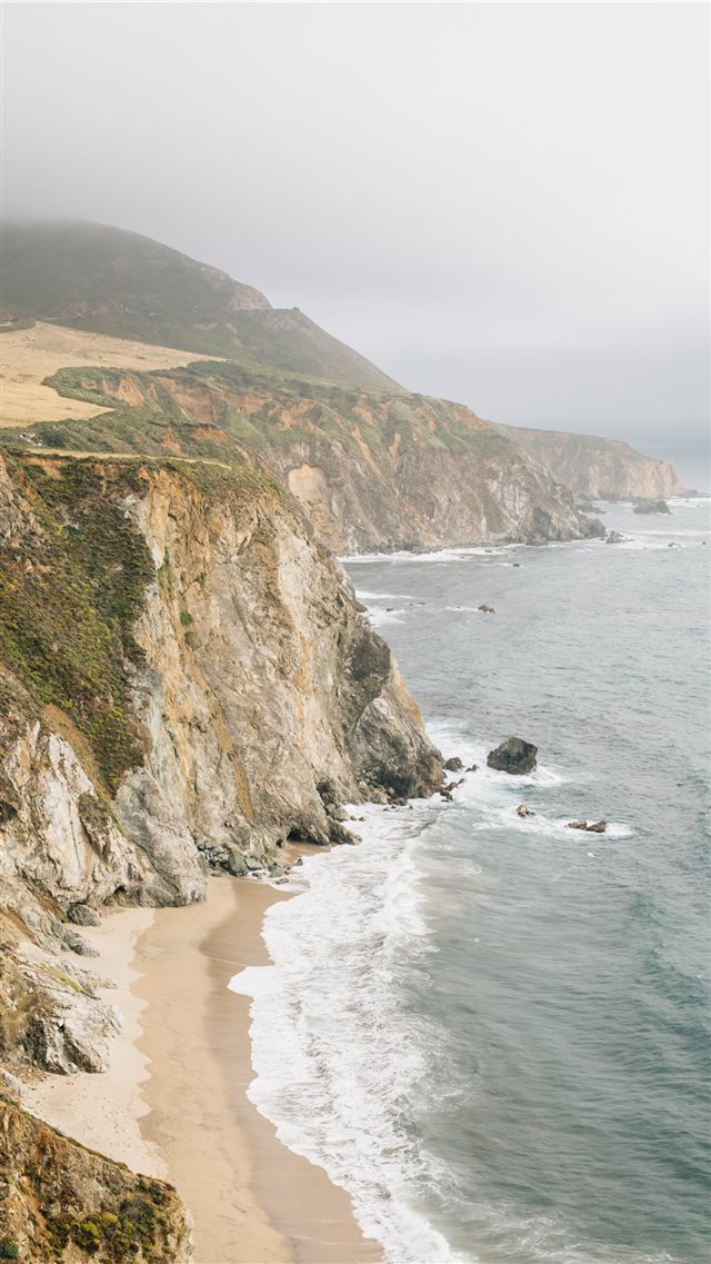 Big Sur  United States iPhone 8 wallpaper