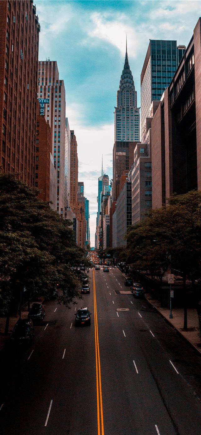 Chrysler Building  New York  United States iPhone X wallpaper