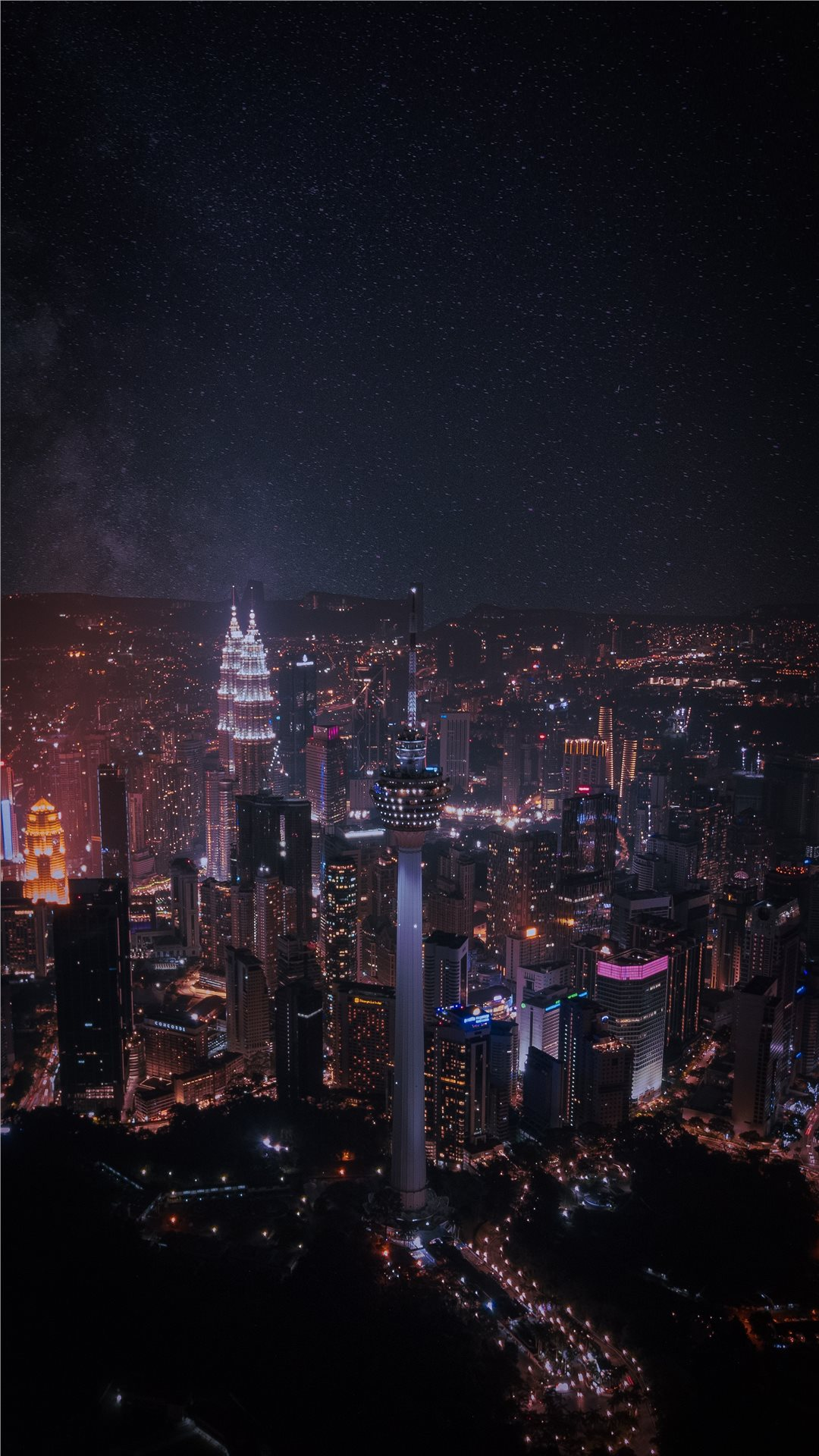 imaginary kuala lumpur iphone 8 wallpaper download | iphone