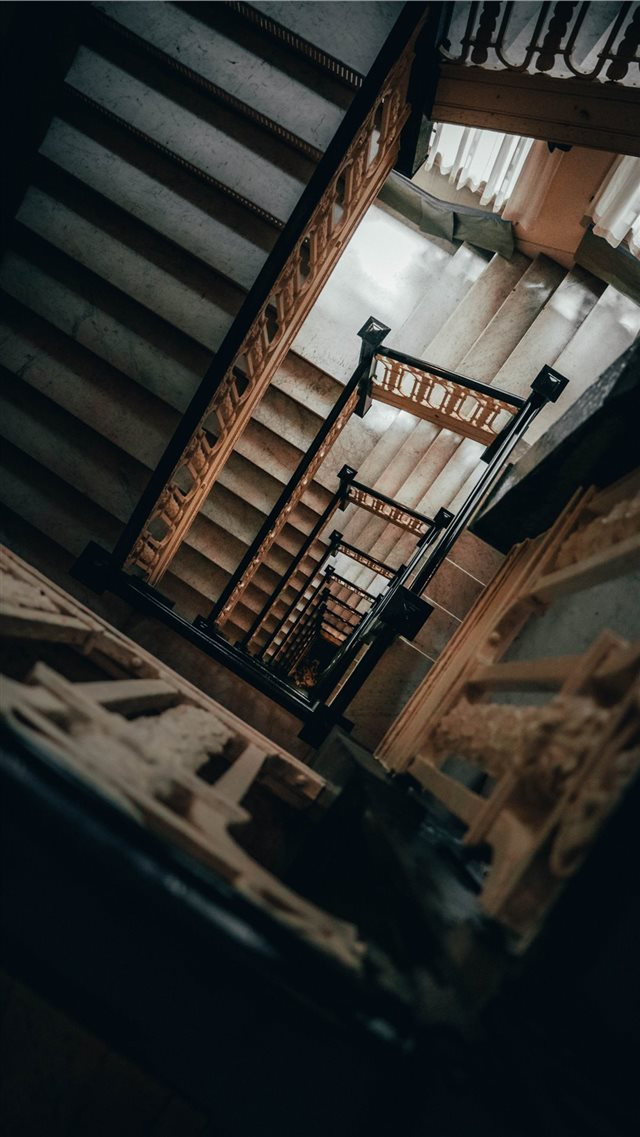 Take the stairs iPhone 8 wallpaper