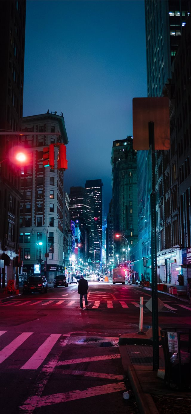 West 30th Street  New York  United States iPhone X wallpaper