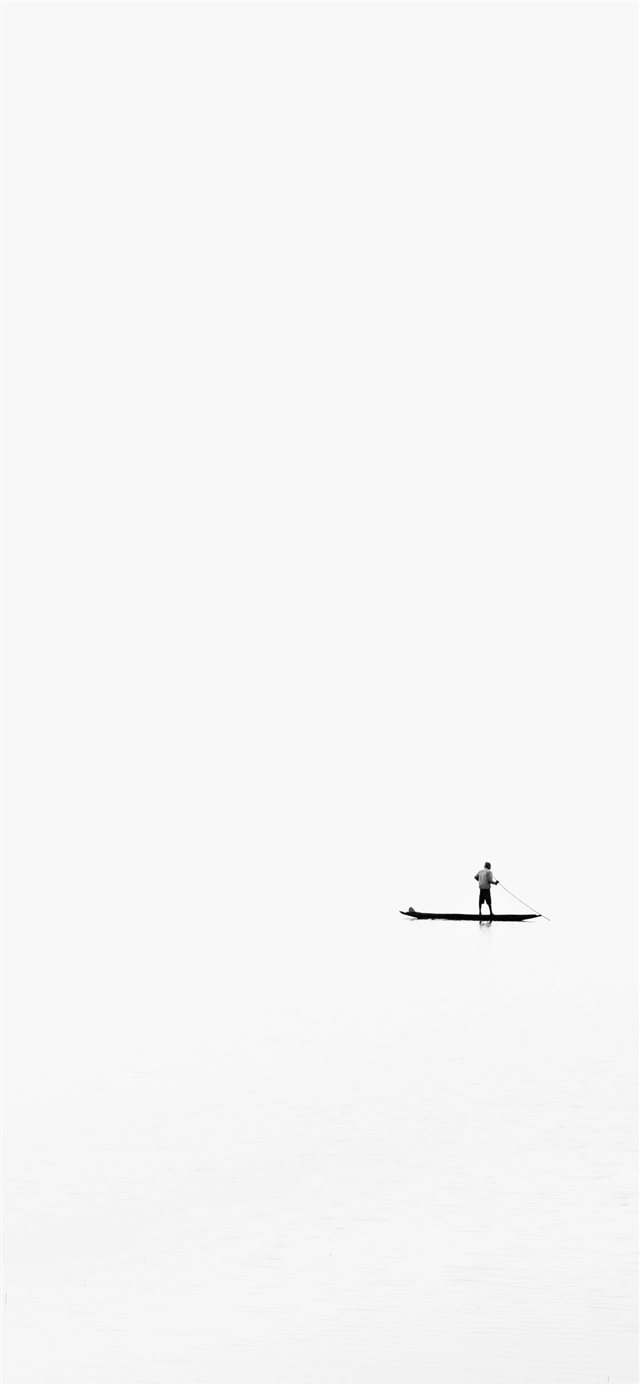 White black life iPhone 11 wallpaper