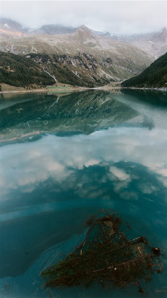 Artificial lake iPhone 8 wallpaper