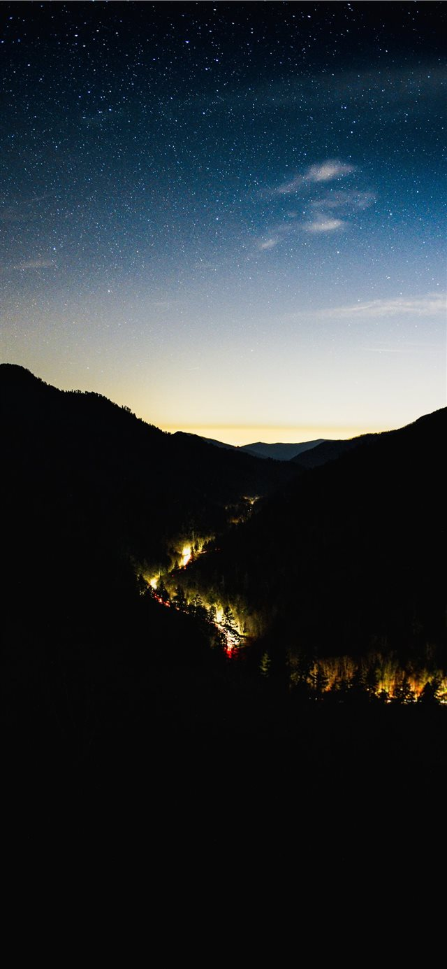 Great Smoky Mountains  United States iPhone X wallpaper