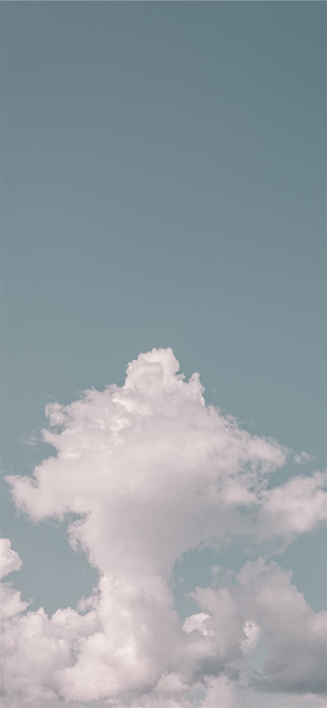 High clouds iPhone X wallpaper