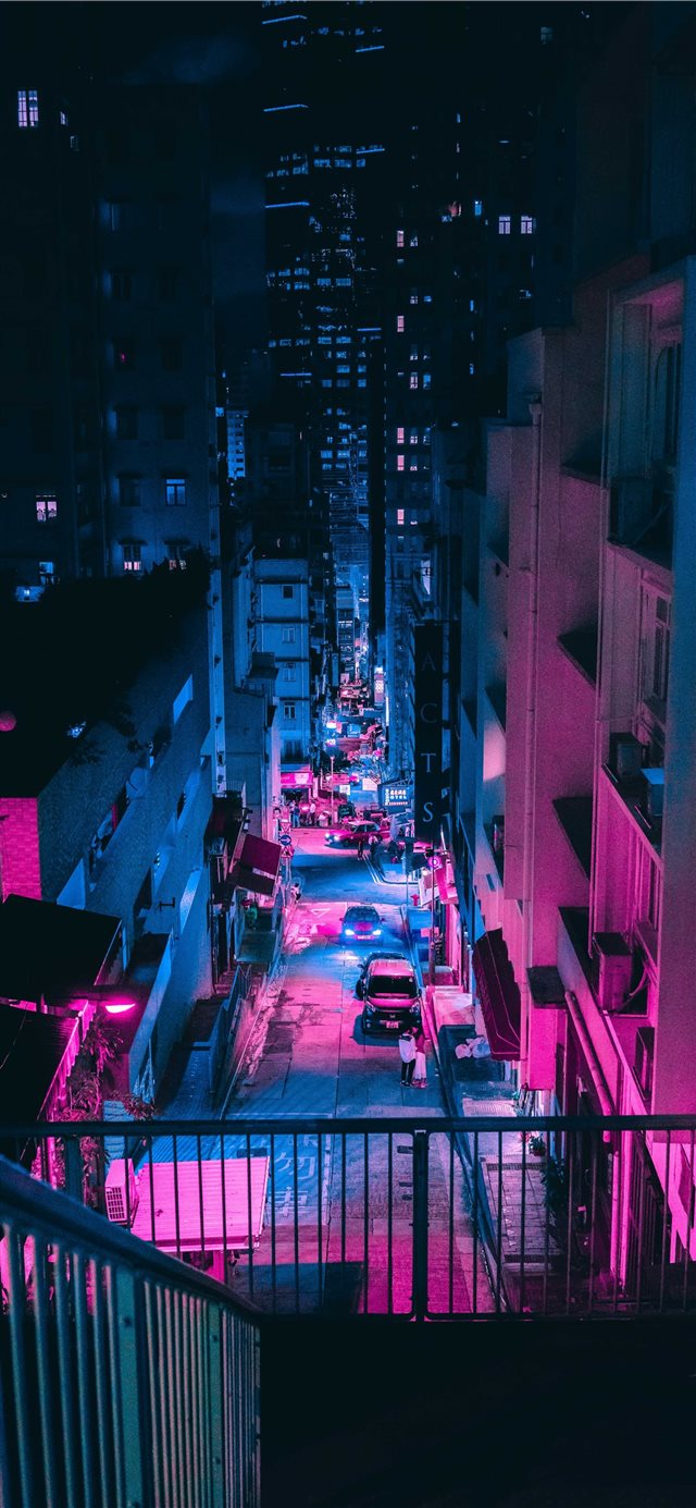 Hong Kong iPhone X wallpaper