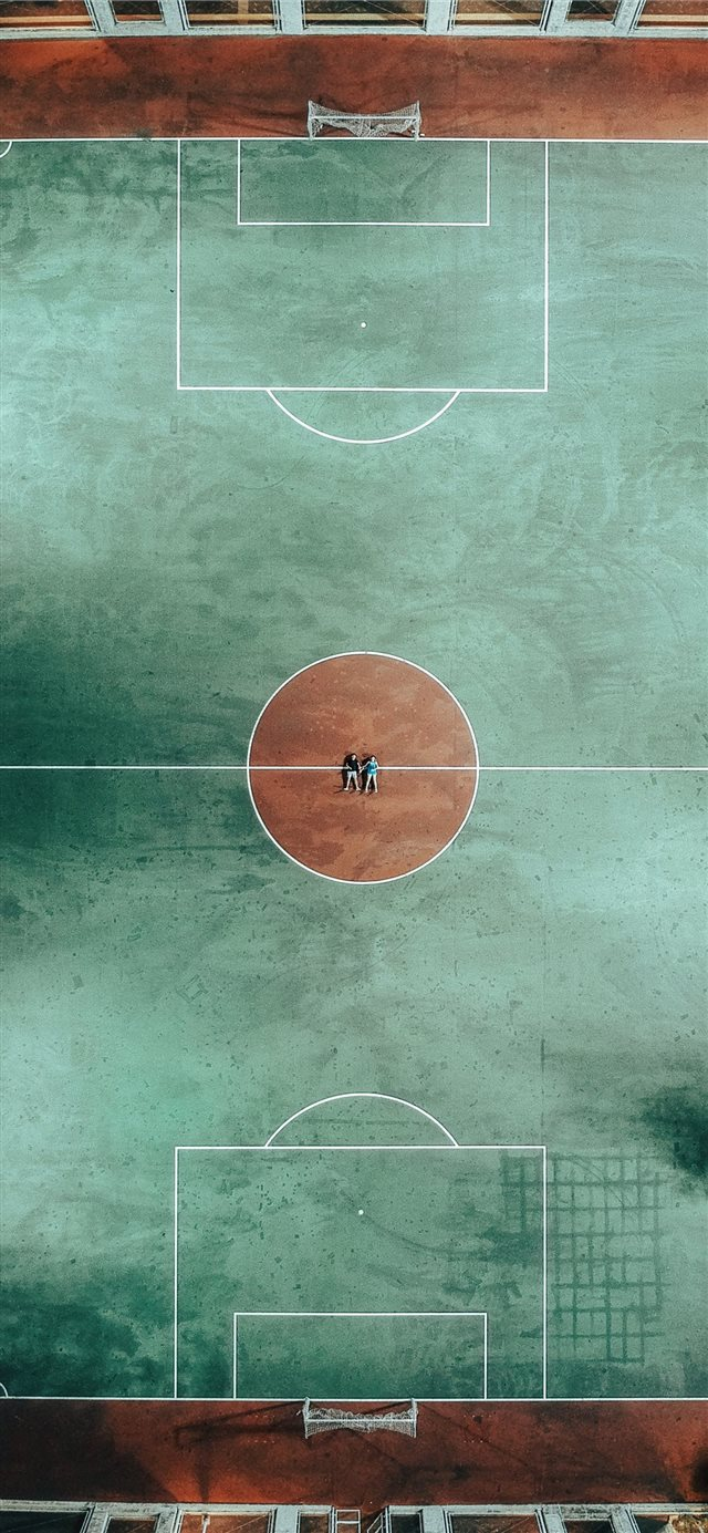 Love story inside the playground  iPhone 11 wallpaper