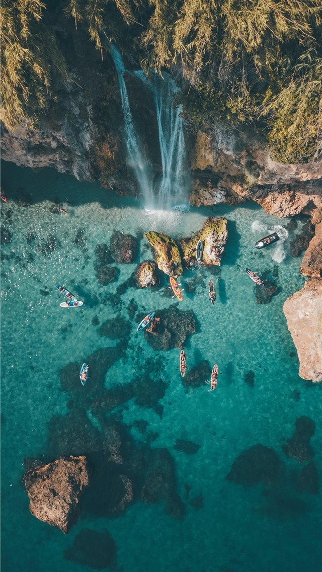 Nerja  Spain iPhone 8 wallpaper