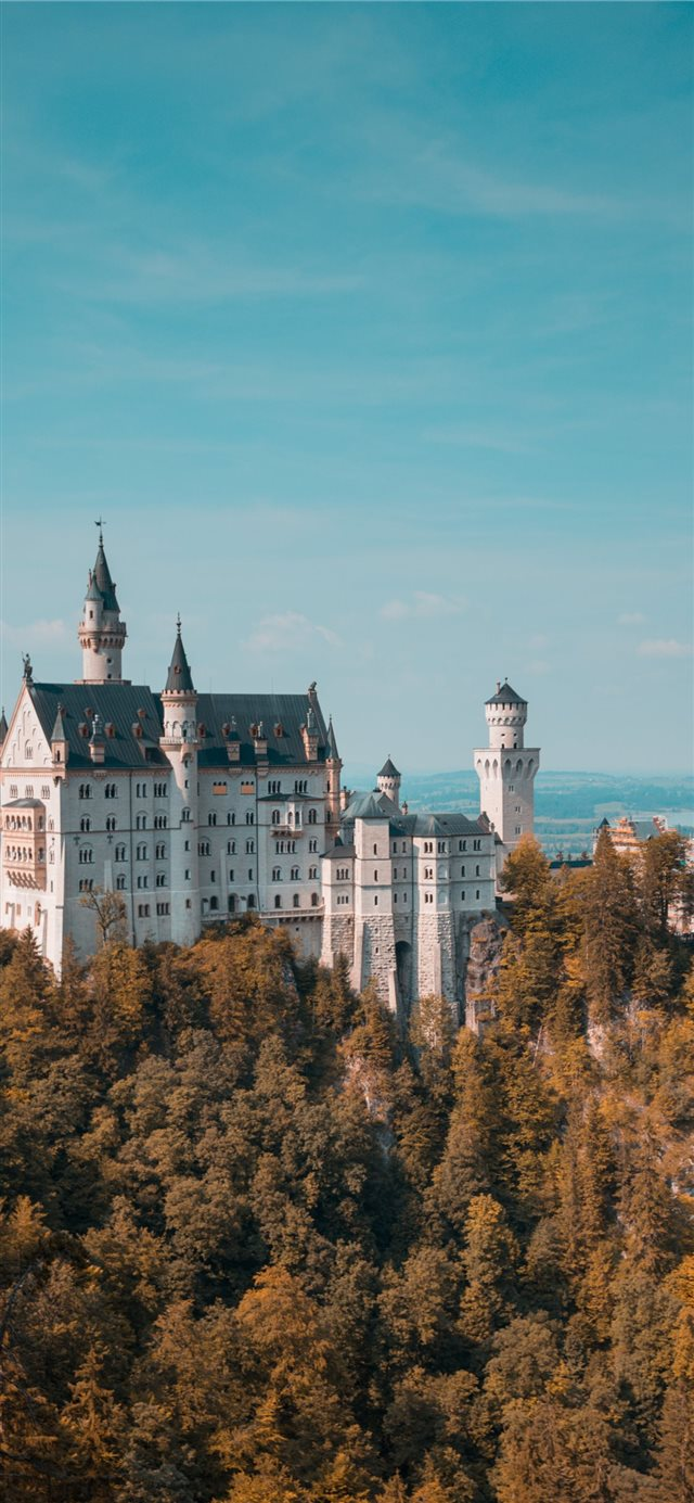 Neuschwanstein Castle iPhone X wallpaper
