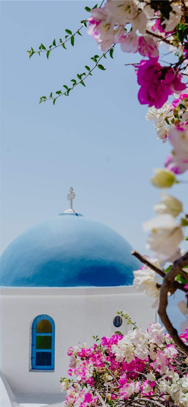 Oia  Greece iPhone 11 wallpaper