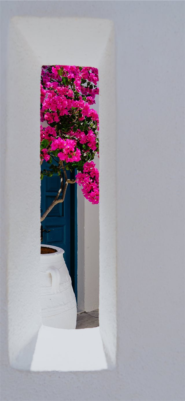 Oia  Greece iPhone X wallpaper