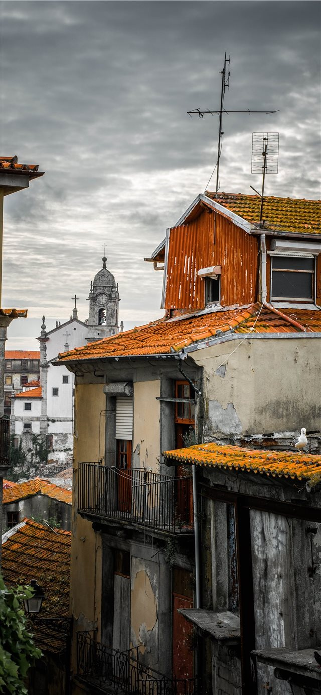 Porto  Portugal iPhone X wallpaper