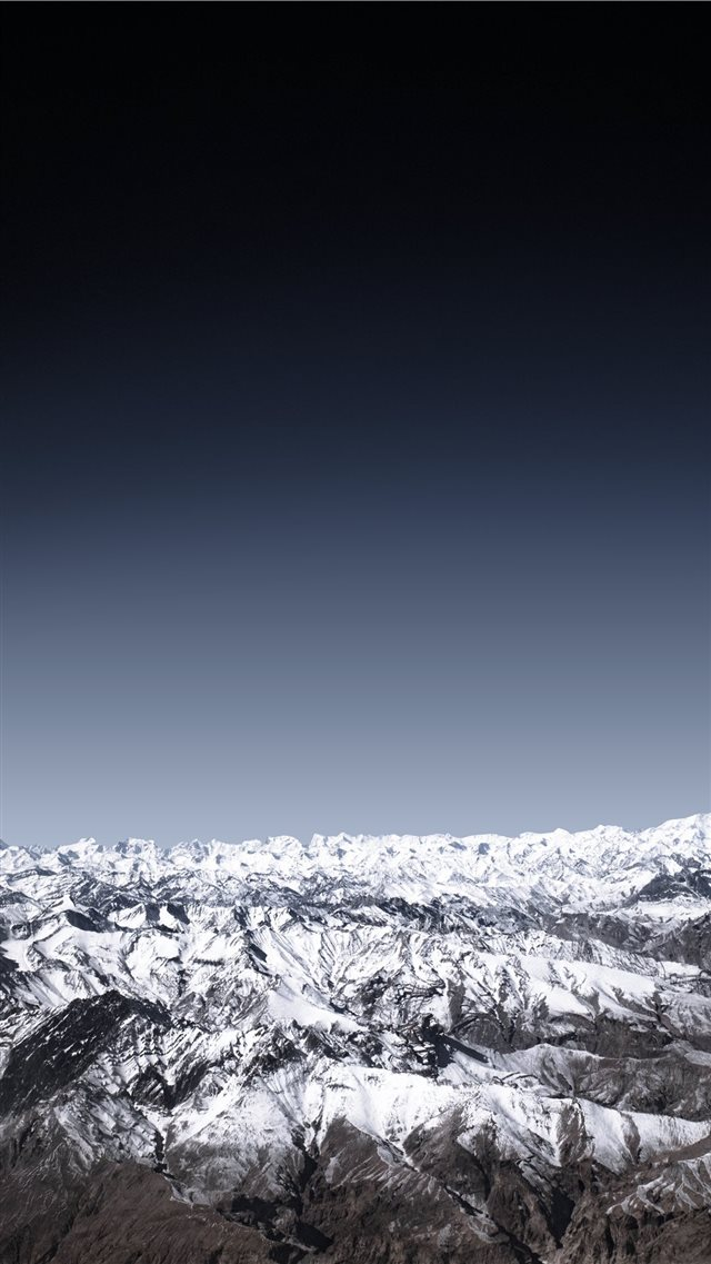 The mighty Himalayas iPhone 8 wallpaper