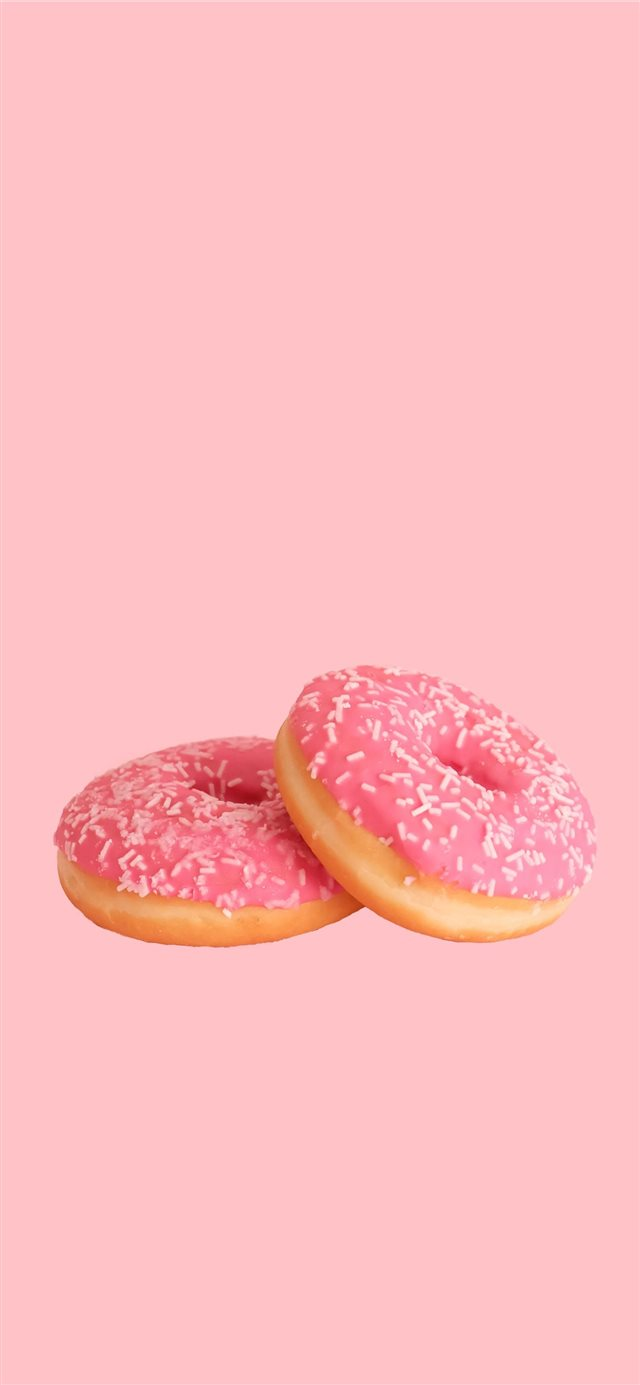 donut iPhone X wallpaper