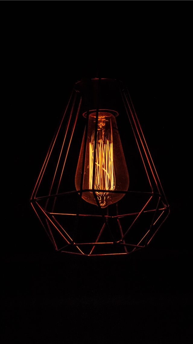 lamp iPhone 8 wallpaper