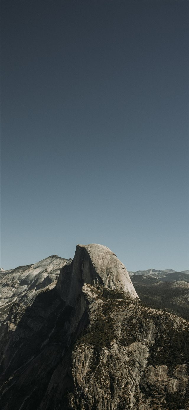 Glacier Point  Yosemite Valley  United States iPhone X wallpaper
