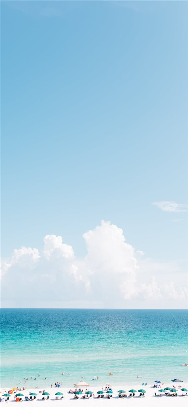 Pensacola Beach iPhone 11 wallpaper